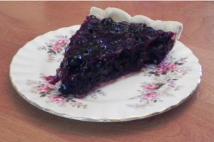 Photo of blueberry pie